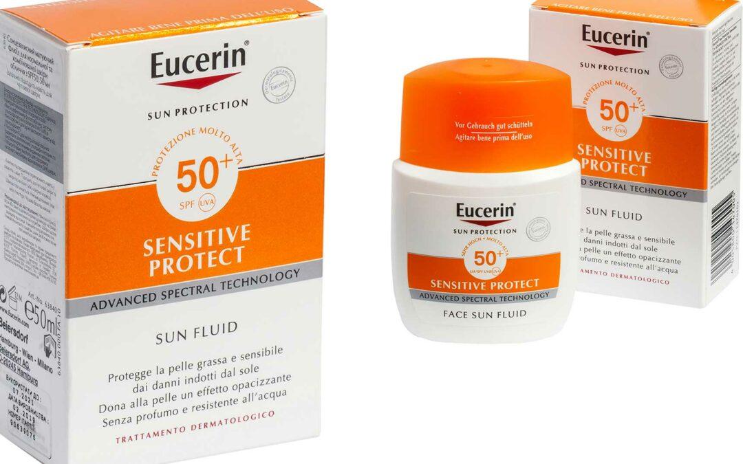 Análisis del protector solar Eucerin