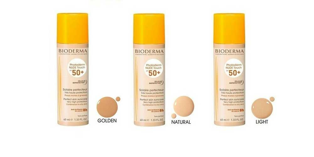 Bioderma nude touch